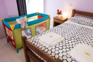 rifugio escursionistico andirivieni camera bambini